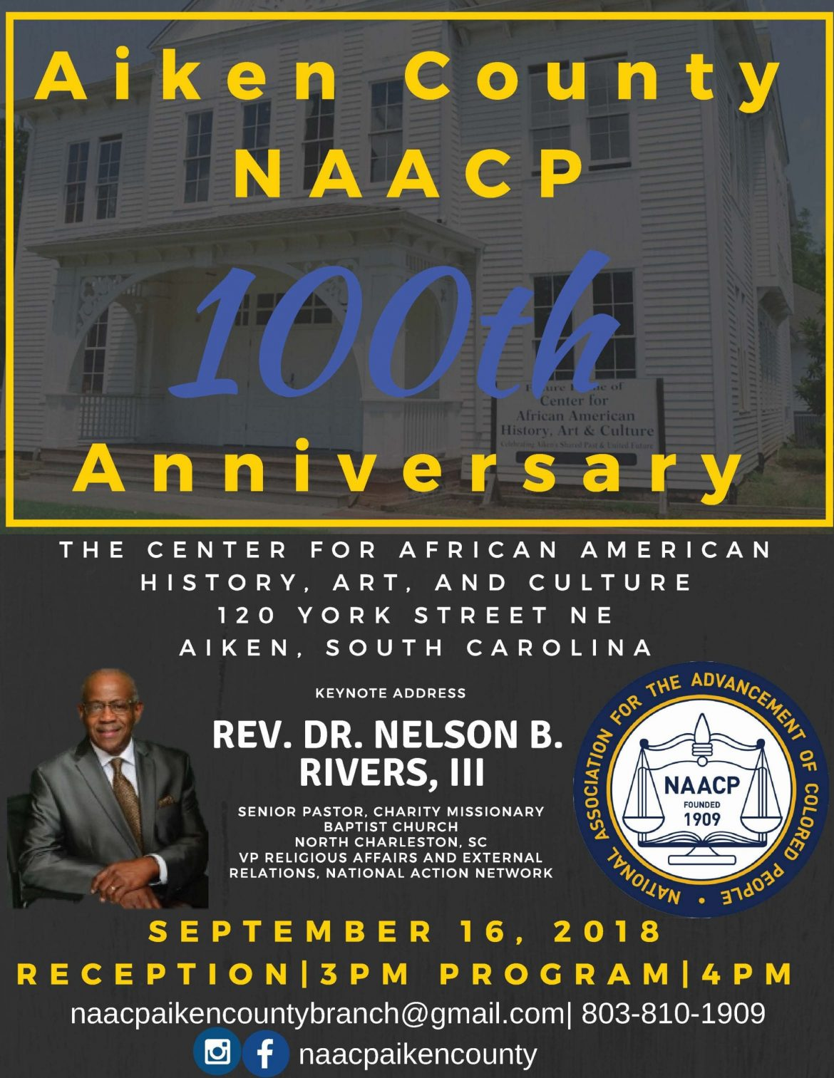 Aiken County NAACP 100th Anniversary