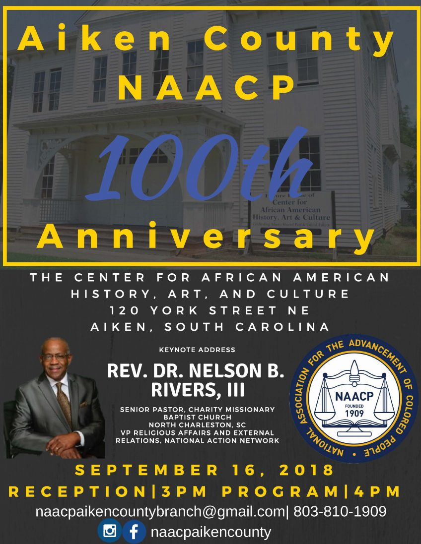Aiken County NAACP 100th Anniversary