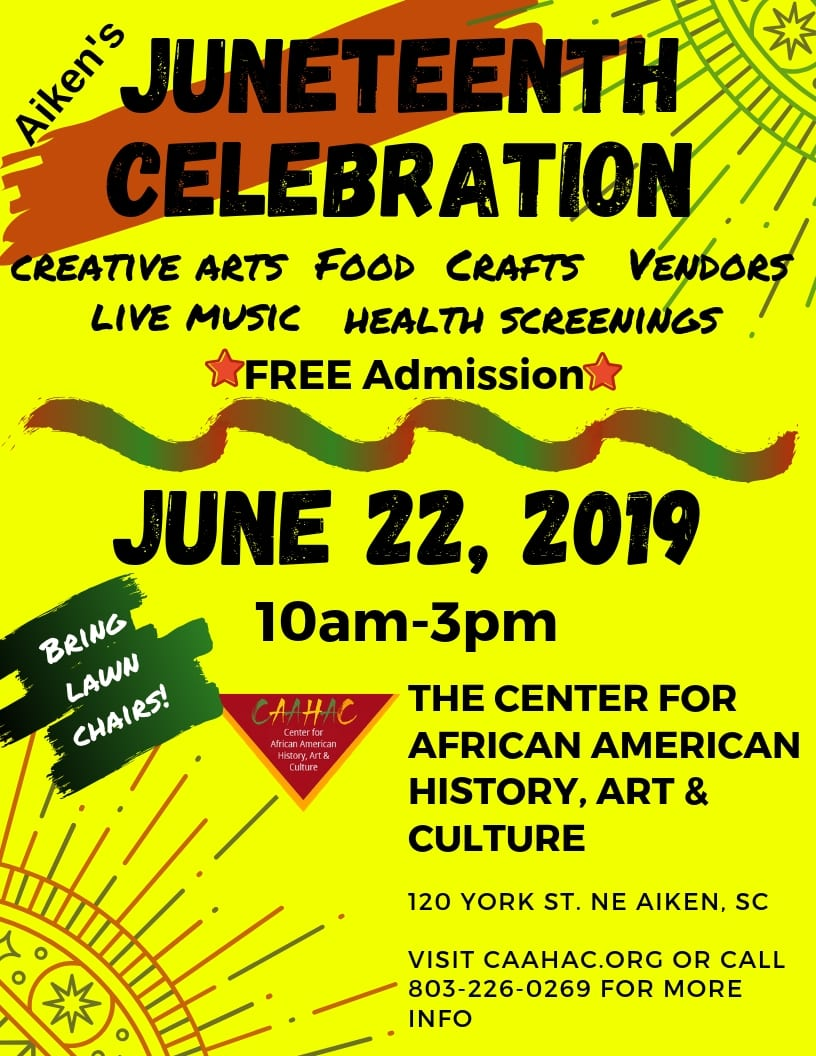 Aiken's Juneteenth Celebration