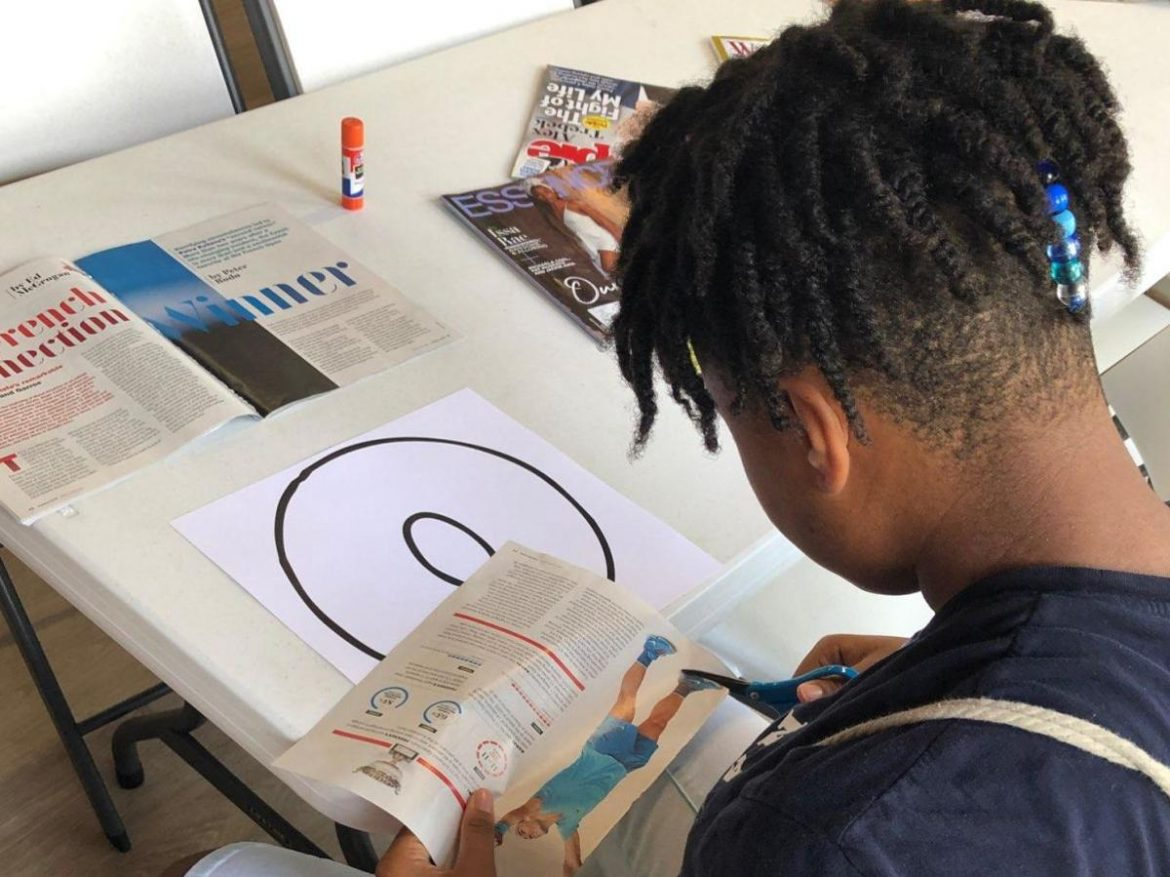 Art Project at African American cultural center in Aiken ties in with museum Civil Rights exhibit, August 9, 2019 by Kristina Rackley