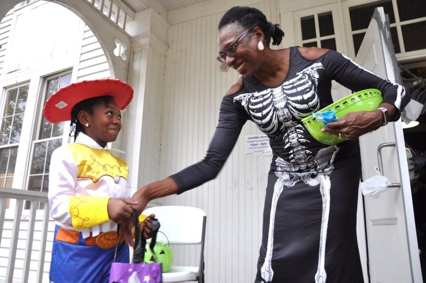 Center for African American History, Art and Culture, NAACP offer candy, voter information on Halloween