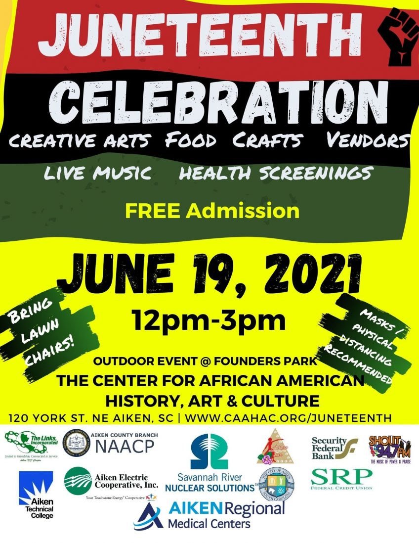 Center for African American History, Art, Culture hosting reopening on Juneteenth in Aiken